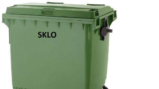 Vývoz SKLO - zelené kontajnery
