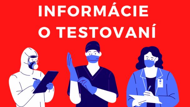 Stále antigénové testovacie miesta v Zlatých Moravciach